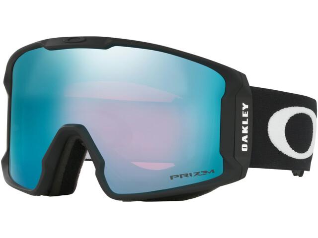 Oakley Line Miner XM Lunettes de ski Femme, matte black/prizm snow sapphire iridium